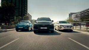 Gama carros ecológicos Hyundai