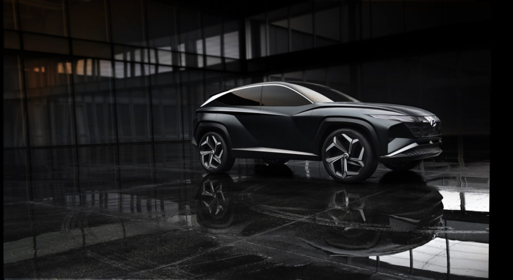 Design de conceito do Hyundai Vision T