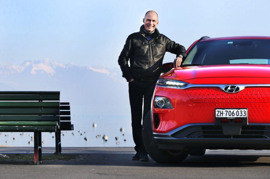 Hyundai faz parceria com o suiço Bertrand Piccard