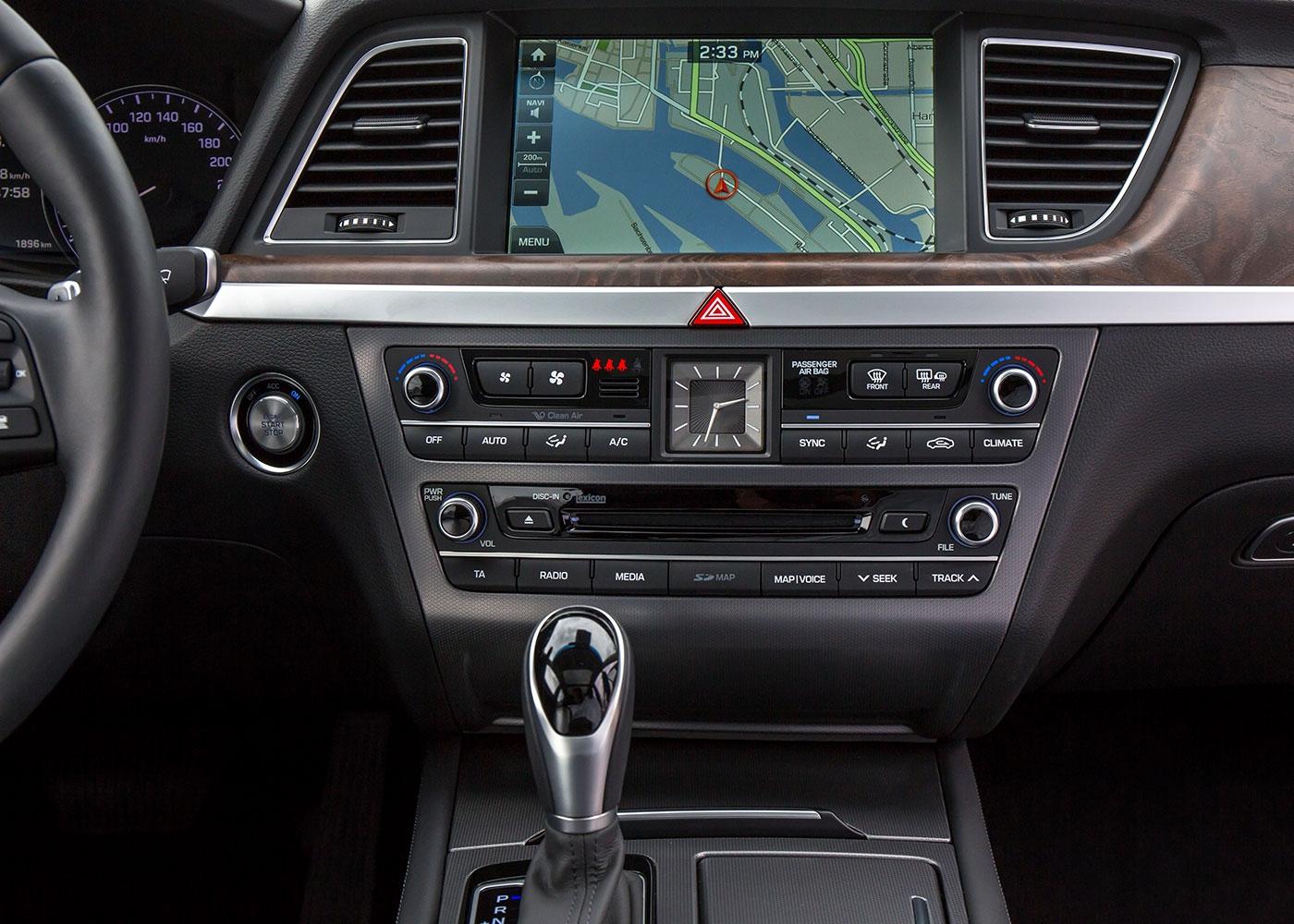 interior de um carro elétrico