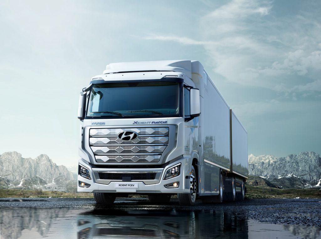 XCENT: o primeiro camião movido a hidrogénio