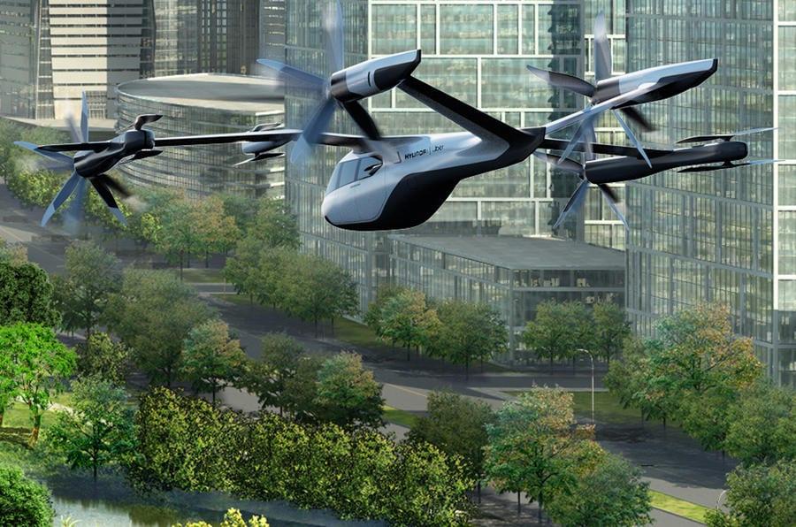 Mobilidade urbana aérea da Hyundai