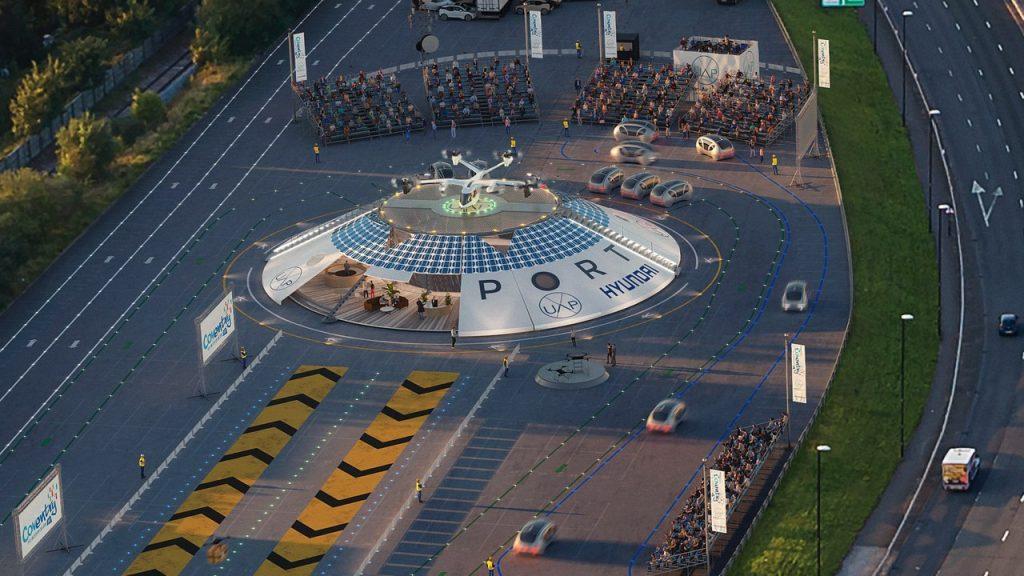 Urban Air Port Hyundai Motor Group integra projeto para o primeiro aeroporto elétrico dedicado à mobilidade aérea urbana