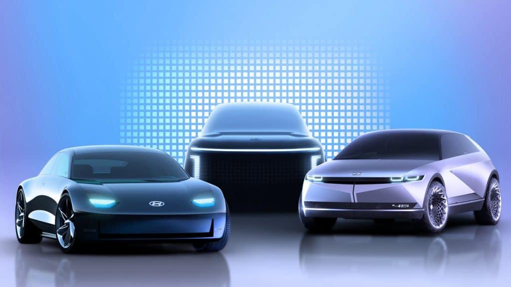 Gama carros elétricos Hyundai