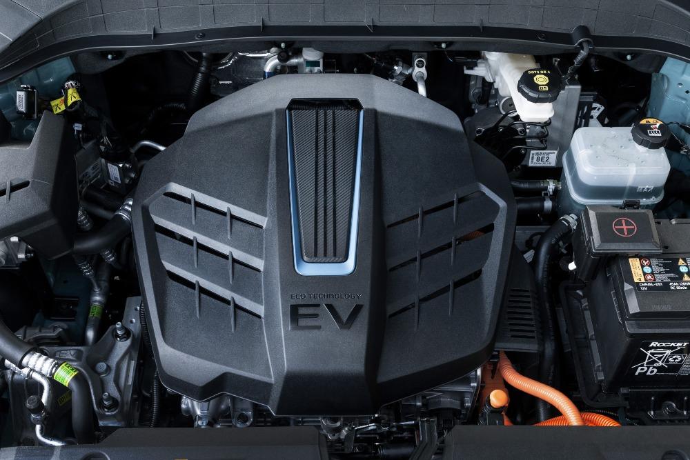 bateria de um carro elétrico