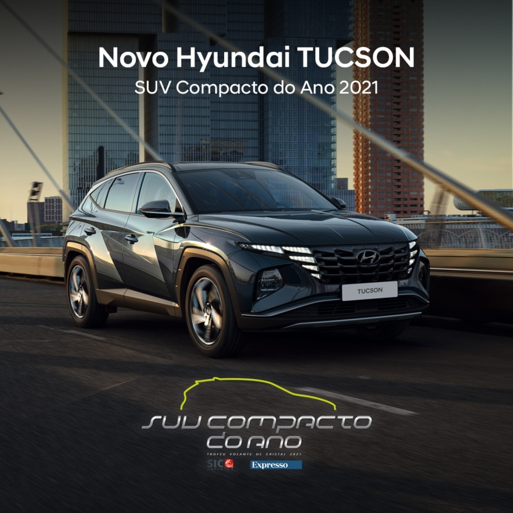 Hyundai Tucson HEV vence prémio carro do ano