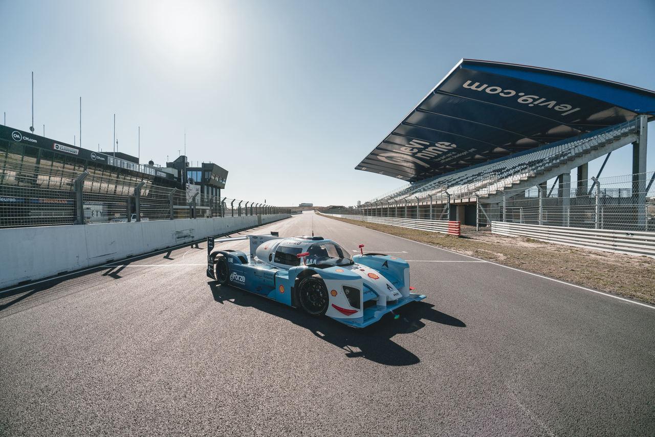 Automóvel de corridas a Hidrogénio