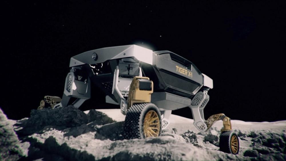TIGER da Hyundai no espaço
