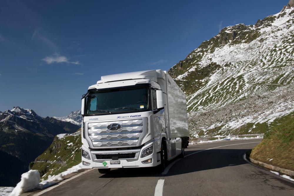 camiões Hyundai XCIENT Fuel Cell