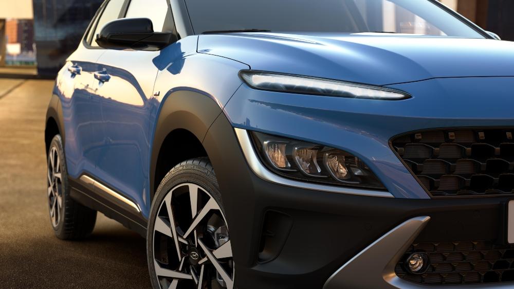 Detalhe do Hyundai Kauai híbrido